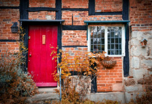 Our property services house door