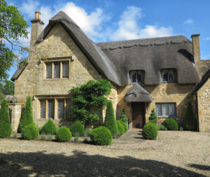 Thatched cottage, Chipping Campden, Cotswold, United Kingdom.